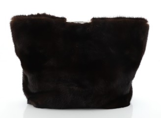 Celine Fold Over Clutch Mink