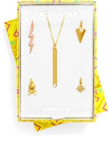 BaubleBar Living on the Edge Charm & Chain Set