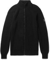 Belstaff - Parkgate Slim-fit Knitted Cotton Zip-up Cardigan