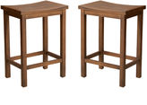 JCPenney Barron Set of 2 Backless Barstools