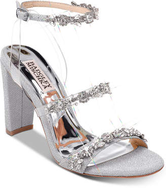 Badgley Mischka Adel Evening Sandals Women Shoes