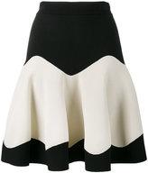 Alexander McQueen knitted A-line skirt - women - Polyamide/Polyester/Spandex/Elastane/Viscose - XS