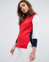 Tommy Hilfiger Color Block Knitted Sweater