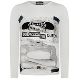 Relish RelishGirls Ivory God Save The Queen Top