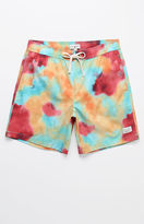 "Modern Amusement Joyce Tie Dye 17"" Swim Trunks"
