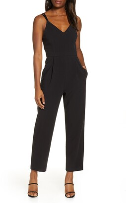 French Connection Anana Whisper Crop Jumpsuit