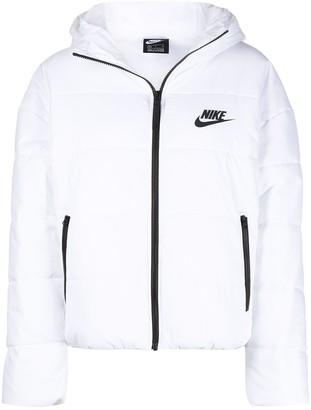 Nike Padded Coat With Logo Print