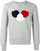 Moncler chest logo sweatshirt - men - Cotton/Polyester - XL