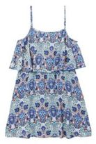 Yumi Girl Paisley Frill Detail Strappy Dress