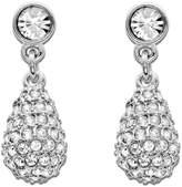 Swarovski Earrings, Heloise Crystal Teardrop Earrings
