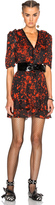 Isabel Marant Irina Printed Silk Dress