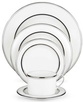 Kate Spade Library Lane Platinum 5 Piece Place Setting