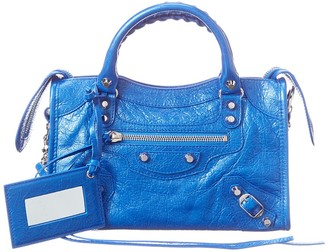 Balenciaga Classic City Mini Leather Shoulder Bag