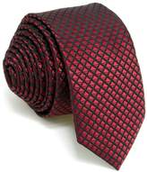 "Shlax & Wing Shlax&Wing Solid Skinny Ties Mens Slim Necktie Silk Wedding New 2.36"""