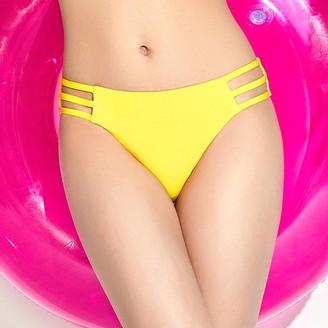 Pink Label Leah Cutout Bikini Bottoms