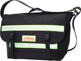 Manhattan Portage Pro Bike Messenger Bag With Stripes (Medium)