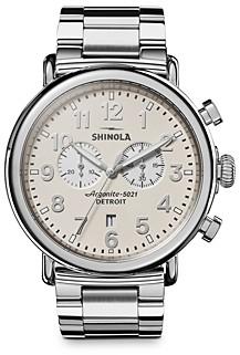 Shinola Runwell Chronograph Watch, 47mm