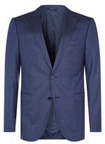 Armani Collezioni Micro Check Wool Jacket