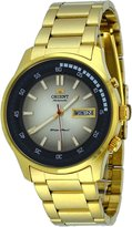Orient Marshall #FEM7E009U Men's Gold Tone Stainless Steel Dial Automatic Watch