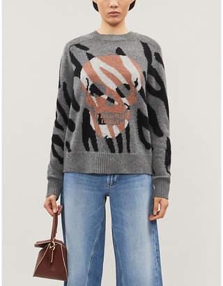 360 Cashmere Jaden wool and cashmere-blend jumper