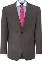 New & Lingwood Frockland Plain Tailored Fit Suit Jacket
