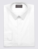 Limited Edition Cotton Rich Slim Fit Long Sleeve Shirt