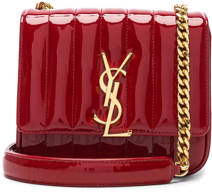 Saint Laurent Small Supple Monogramme Vicky Chain Bag