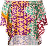 Tsumori Chisato off-shoulders shift blouse - women - Cotton/Rayon - 3