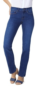 NYDJ Marilyn Straight-Leg Jeans in Cooper