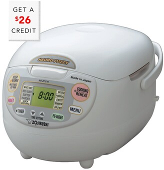 Zojirushi 5.5-Cup Neuro Fuzzy Rice Cooker & Warmer