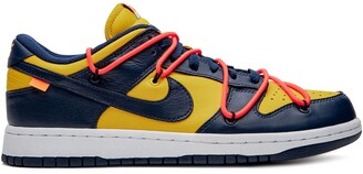 Nike x Off-White Dunk Low University Gold sneakers