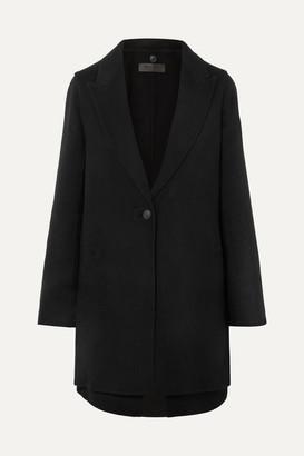 Rag & Bone Kaye Convertible Wool-blend Felt Coat - Black