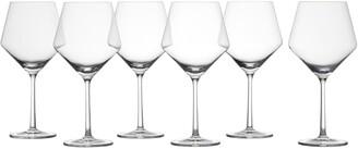 Schott Zwiesel Pure Set of 6 Burgundy Wine Glasses