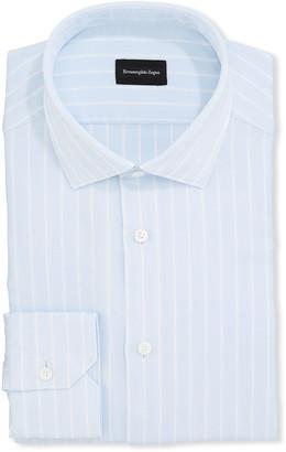 Ermenegildo Zegna Men's Striped Oxford Dress Shirt