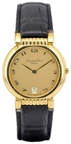 Christian Dior 45.125 Gold Plated 32mm Mens Watch