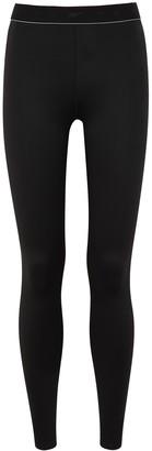 Reebok x Victoria Beckham Black Logo Stretch-jersey Leggings