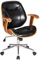Boraam Black Rigdom Desk Chair