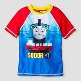 Thomas & Friends Toddler Boys' Rashguard - Blue 3T