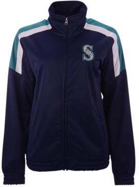 G Iii Sports G-iii Sports Women's Seattle Mariners Track Star Track Jacket