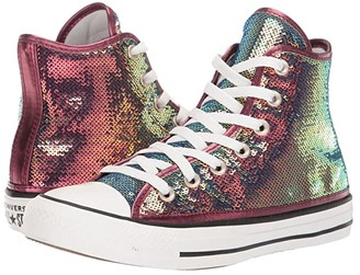 Converse Chuck Taylor All Star Hi - Northern Lights (Prime Pink/Vintage White/Black) Women's Classic Shoes