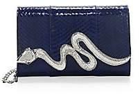 Judith Leiber Couture Women's Serpent Snakeskin Bag