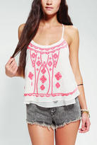 Urban Outfitters Ecote Embroidered Bazaar Cami
