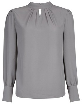 Dorothy Perkins Womens Charcoal Long Sleeve Top