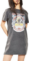 Topshop Iron Maiden T-Shirt Dress by And Finally