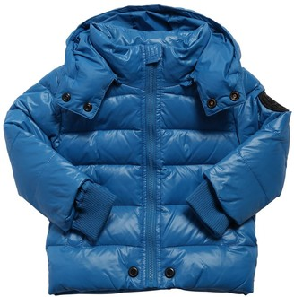 Diesel Hooded Nylon Down Jacket