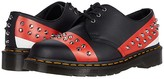 Dr. Martens 1461 Stud (Black/Red/White) Shoes