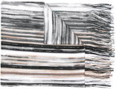 Missoni lurex fringed scarf - women - Nylon/Viscose/Metallized Polyester - One Size