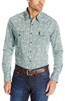 Cinch Men's Modern Fit Long Sleeve Shirt with Snap Front