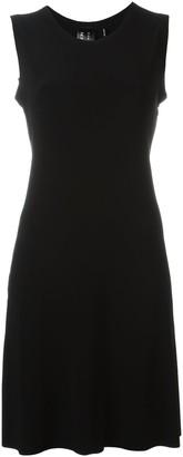 Norma Kamali Pleated Short Dress
