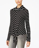 American Rag Striped Cowl-Neck Top, Only at Macy's